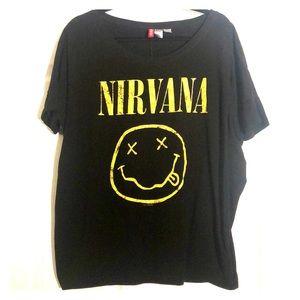 Oversized Nirvana T-Shirt